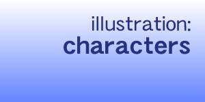 illustration:characters
